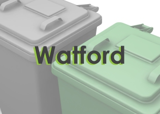 Wheelie bin cleaning in Watford, North Watford, Kingswood & Garston