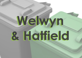 Wheelie bin cleaning in Welwyn, Hatfield, Brookmans Park, Cuffley, and Welwyn Garden City